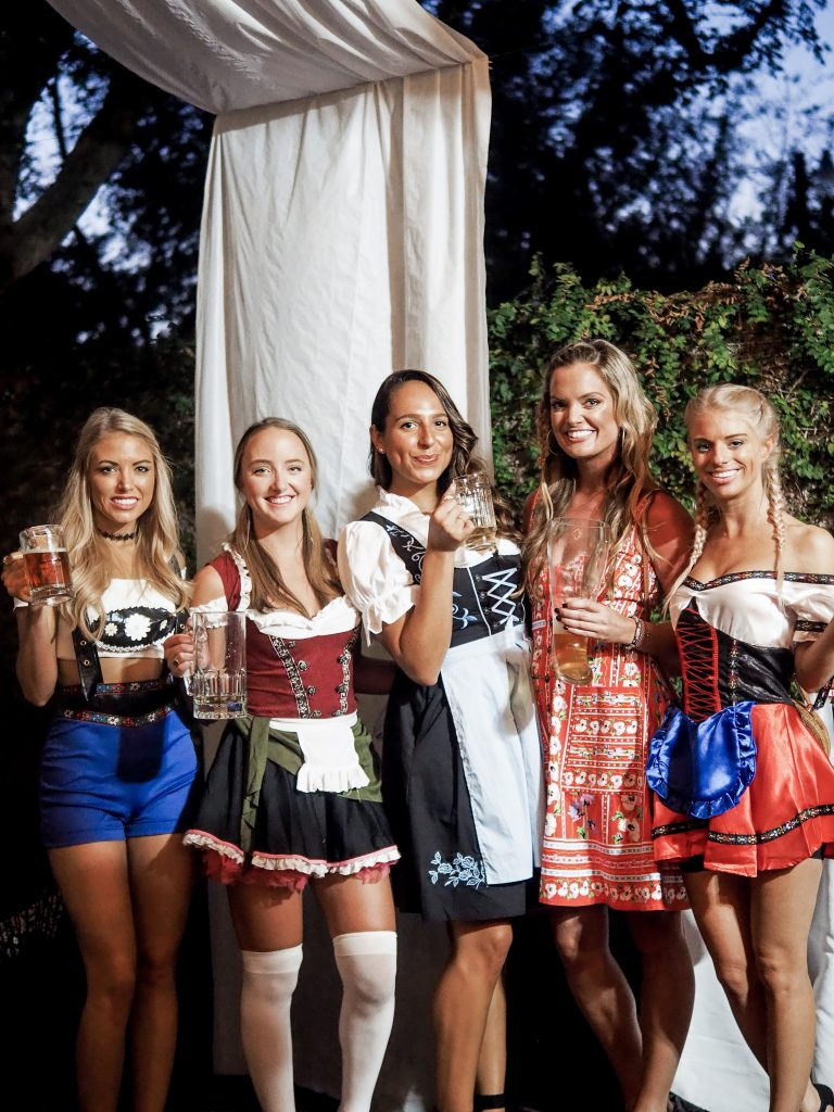 Oktoberfest themed party Dannon Collard Like The Yogurt Charleston blog40