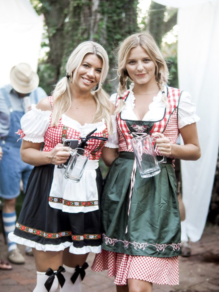 Oktoberfest themed party Dannon Collard Like The Yogurt Charleston blog